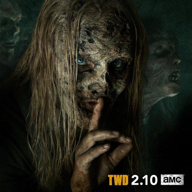 Ходячие мертвецы 9 сезон: в тизере показали Альфу Шепчущихся 18+ - фото 165709