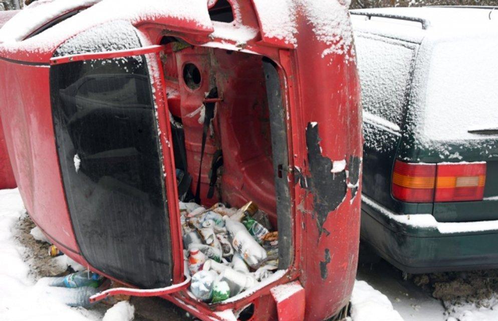 Ублю превращают в мусорник - фото 165998