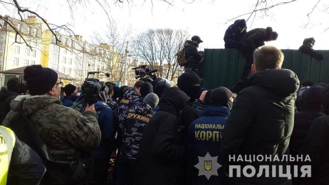 В Одессе на акцию против стройки вышли местные и активисты  - фото 166094