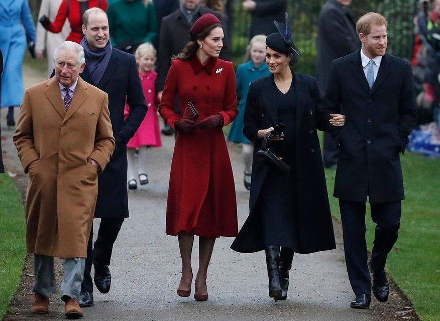 Меган Маркл и Кейт Миддлтон объявили о перемирии ради Елизаветы II - фото 166172