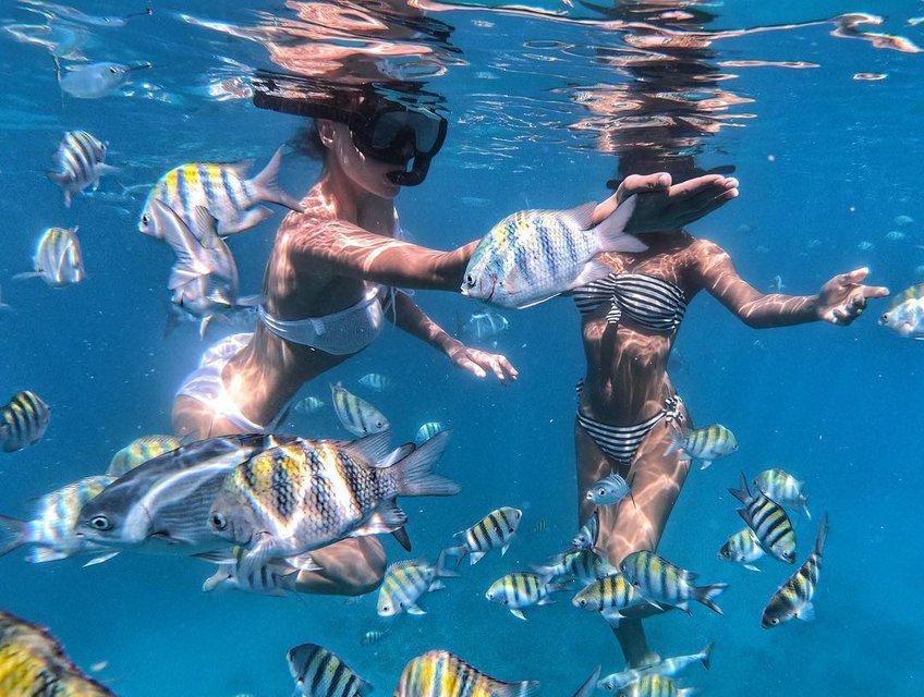 Известная украинская певица восхитила подводной фотосессией в бикини - фото 166341
