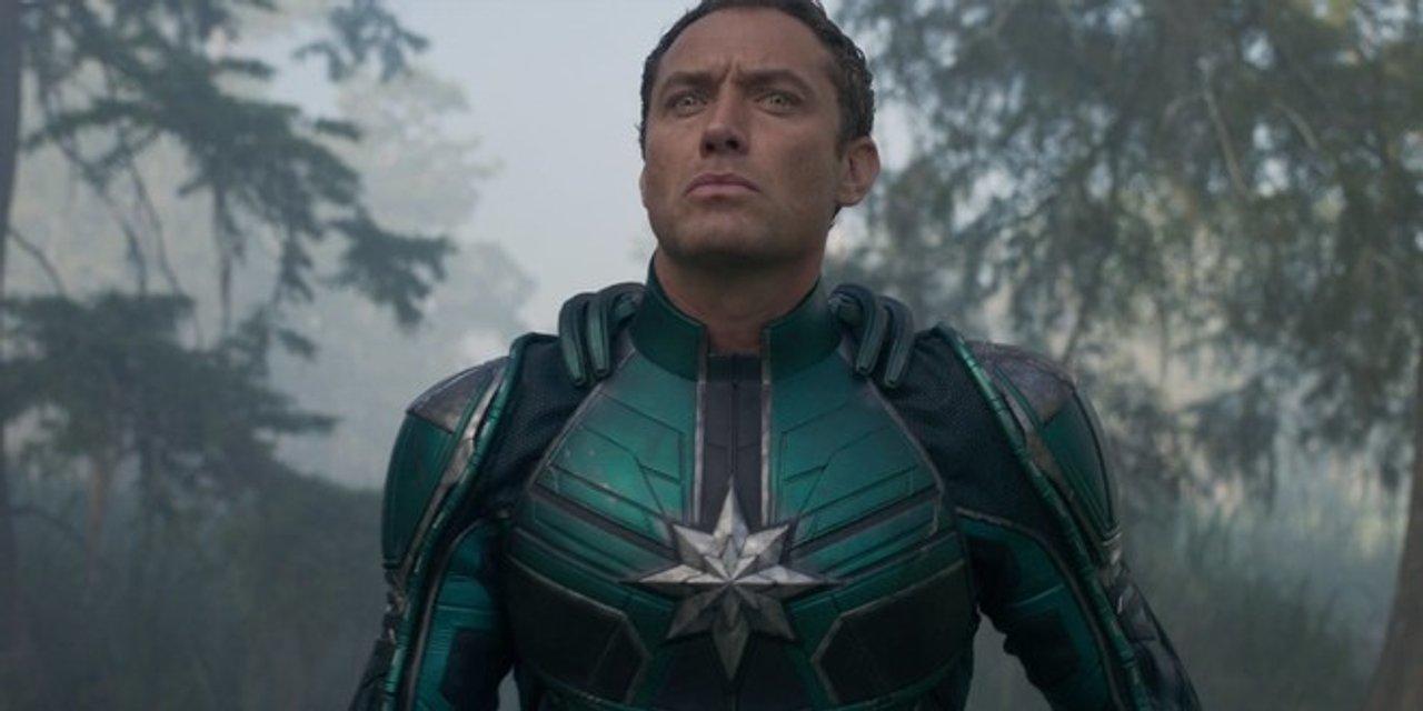 Капитан Марвел: Джуд Лоу в роли супергероя на первых фото - фото 166625