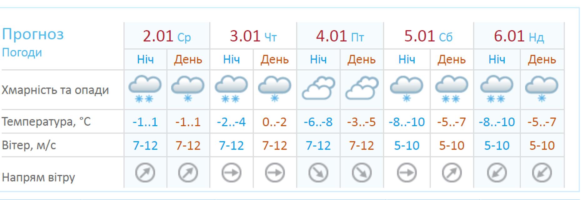 Погода в Украине: метеорологи предупреждают о метелях и лавинах - фото 166954