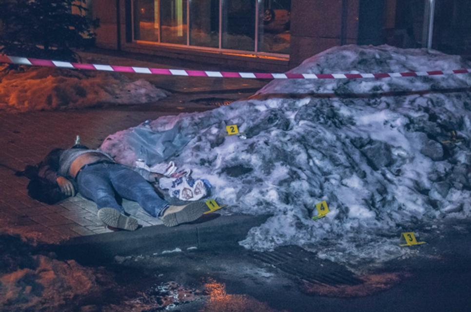 В Киеве известный украинский боксер убил охранника Порошенко (ВИДЕО 18+) - фото 167062