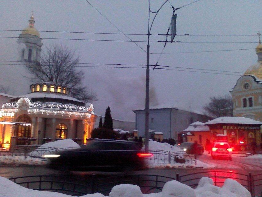 В Киеве пылает Печерска лавра - фото 168096