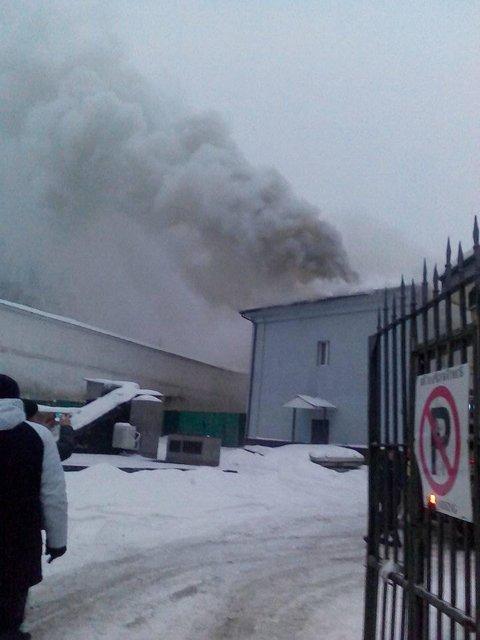 В Киеве пылает Печерска лавра - фото 168097