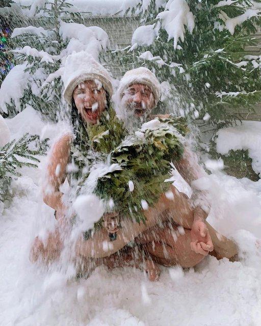 Голые Сергей и Снежана Бабкины показали, как надо расслабляться - фото 168114