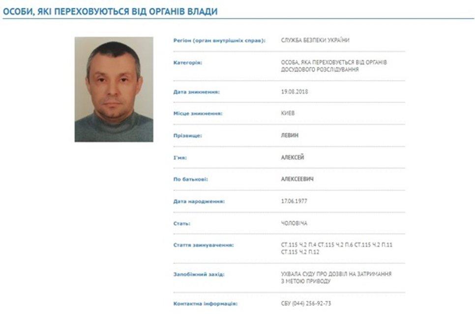 СБУ объявила в розыск организатора убийства Гандзюк - фото 168829
