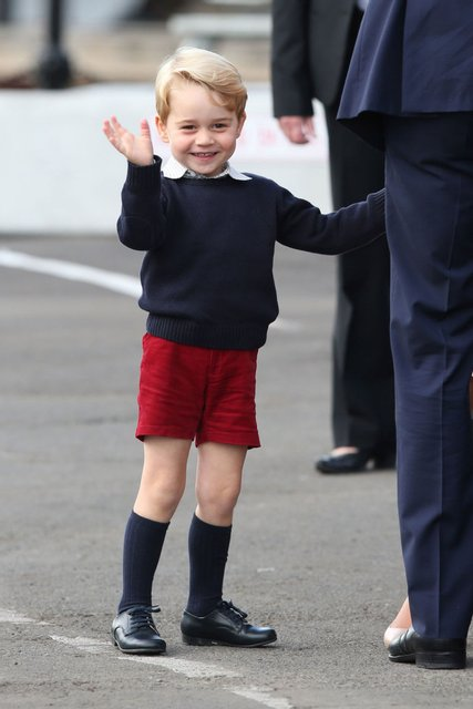 Принц Джордж случайно раскрыл свое прозвище - фото 170004