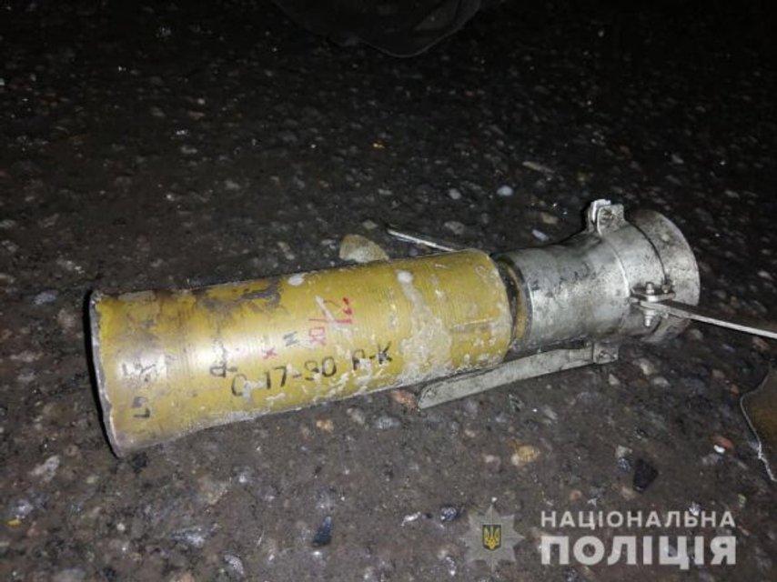 В Днепре неизвестный расстрелял Toyota Land Cruiser с людьми из гранатомета - фото 170170