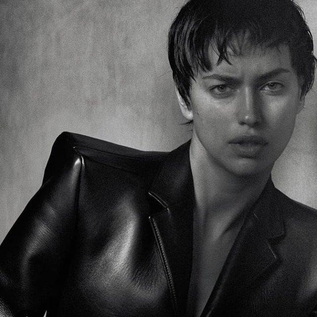 Ирина Шейк со стрижкой 'под мальчика' снялась в дерзкой фотосессии - фото 170379