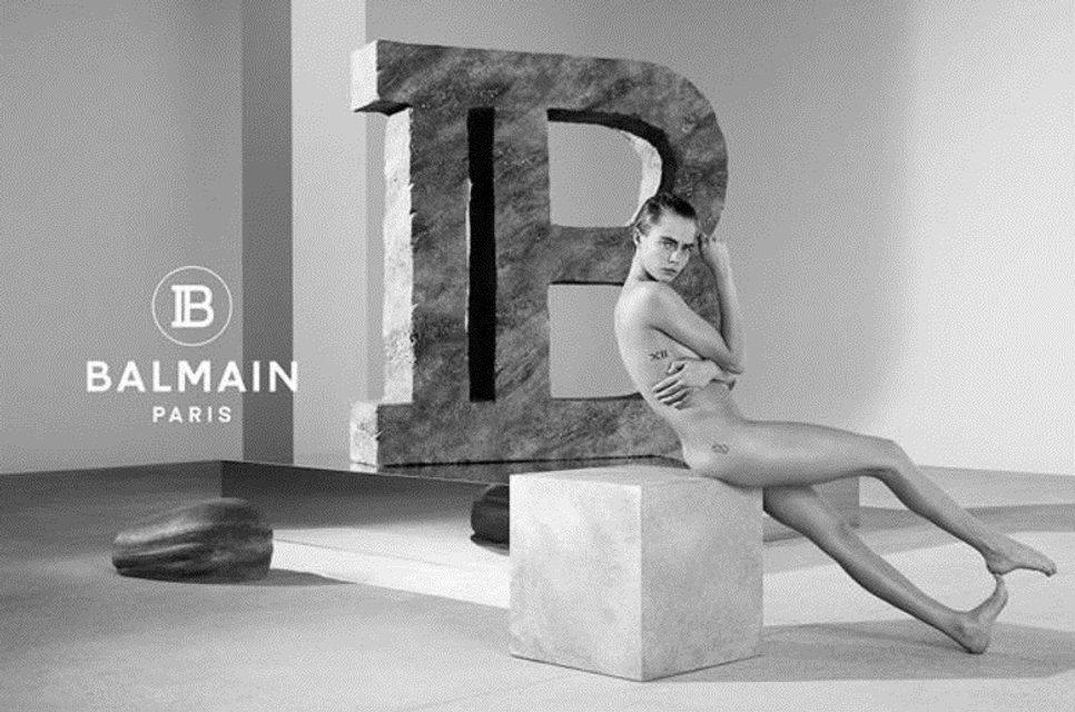 Кара Делевинь разделась для рекламы модного бренда - фото 170567