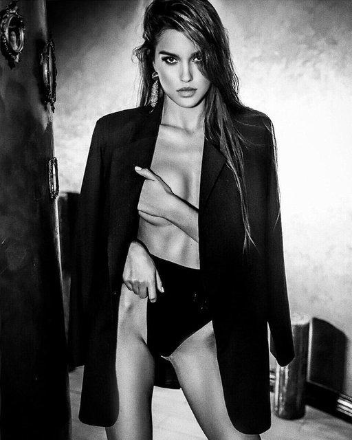 Мисс Украина-2018 Леонила Гузь показала интимные части тела - фото 170694
