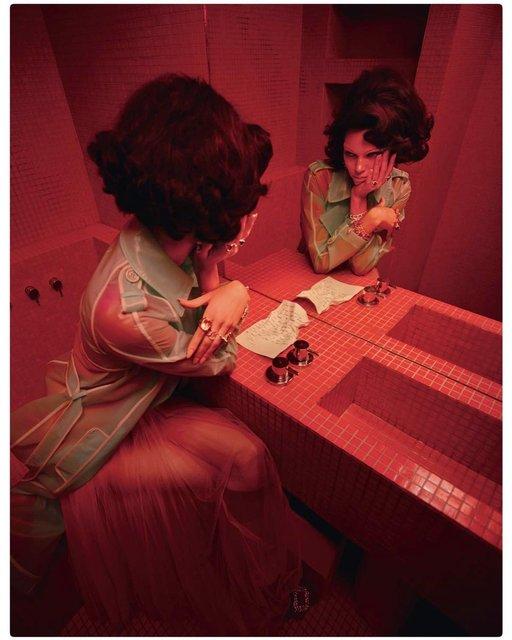 Кендалл Дженнер полностью разделась для модного глянца - фото 170833