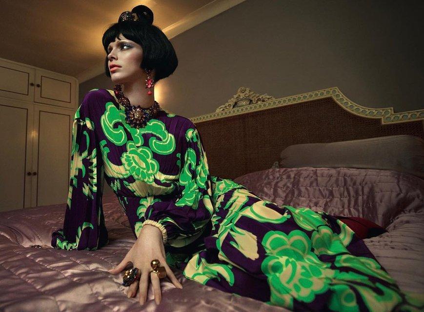 Кендалл Дженнер полностью разделась для модного глянца - фото 170835