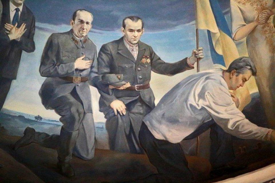 Ющенко и сотники УПА - фото 171124