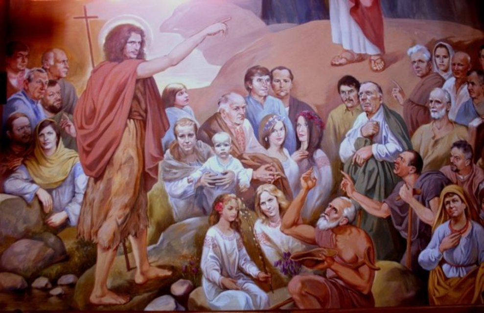 Кузьма Скрябин в образе Иоанна Крестителя - фото 171127