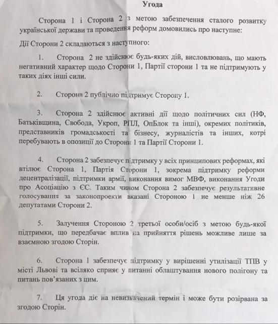 Люди Порошенко  готовили рейдерский захвать 'Самопомочі' - фото 171652