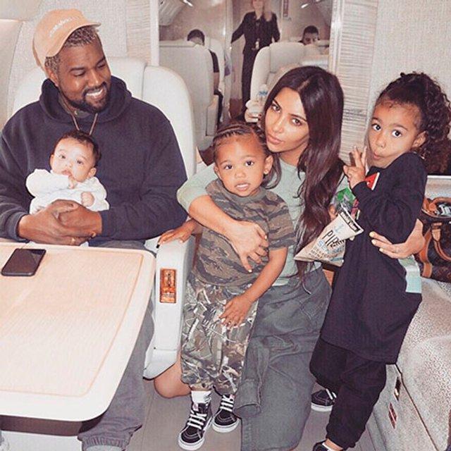Ким Кардашьян призналась, что четвертый ребенок им с Уэстом нужен для равновесия - фото 171720