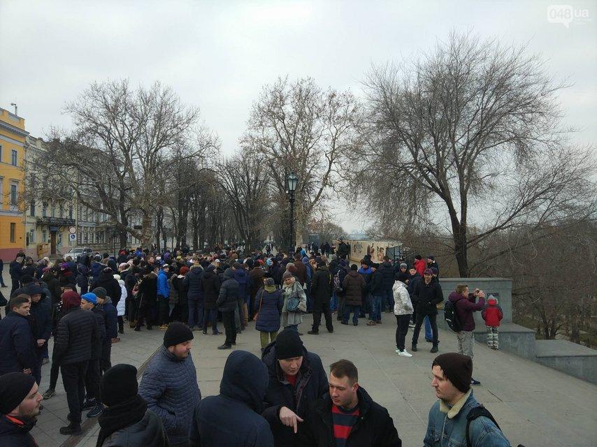 В Одессе и Киеве пранкеры собрали 'активистов' на митинг за несуществующего политика - фото 171931