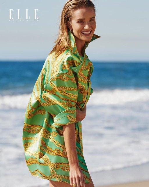 Невеста Джейсона Стэтхэма снялась в пикантной пляжной фотосессии - фото 172302