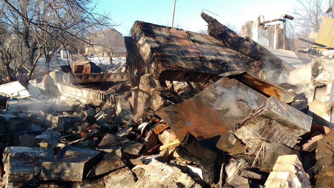 Русские целенаправленно разбомбили жилой дом управляемым снарядом - фото 172562