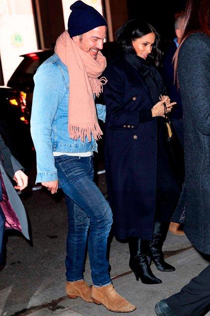 Как Меган Маркл отгуляла вечеринку в Нью-Йорке (фото) - фото 173250
