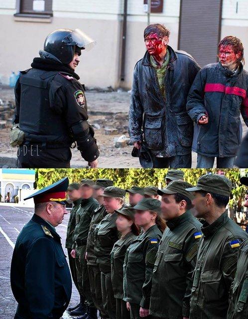 Избивавший активистов Майдана полковник Нацгвардии вскоре получит генерала (ФОТО) - фото 173262