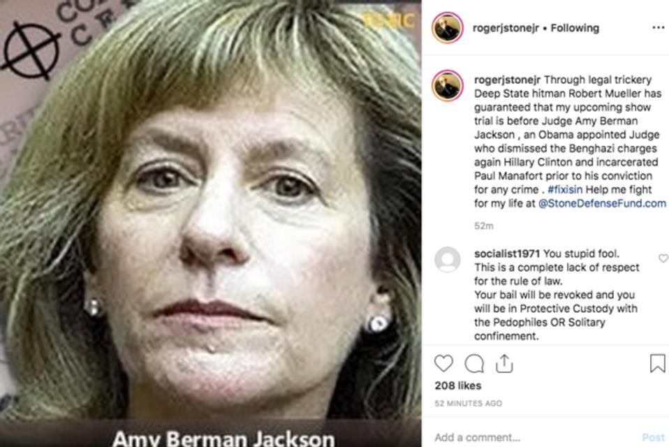 Бывшему помощнику Трампа вынесли предупреждение за фото в Instagram - фото 173470