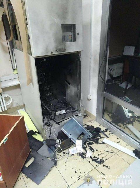 В Харькове взорвали банкоматы - фото 173492