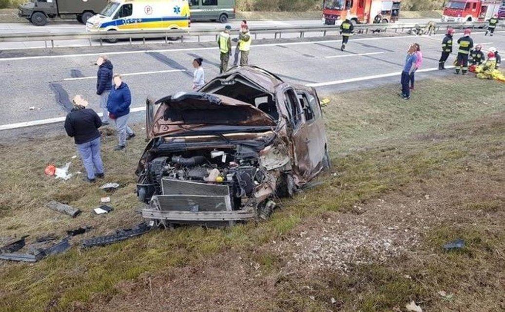 В Польше пострадали ехавшие из Штатов военные - фото 173897