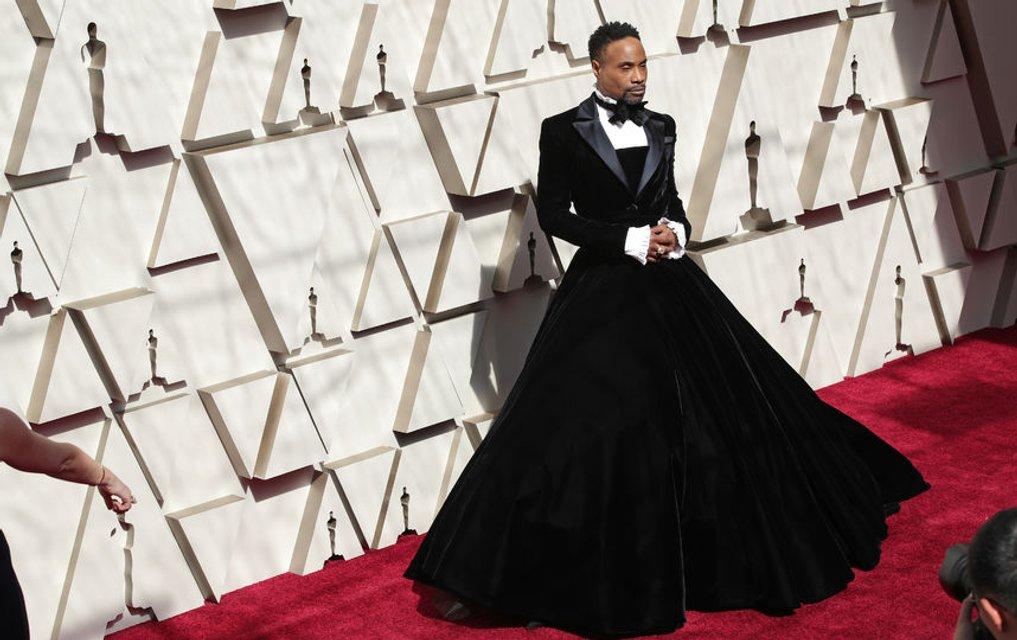Оскар 2019: Билли Портер объяснил, почему пришел в платье - фото 173941
