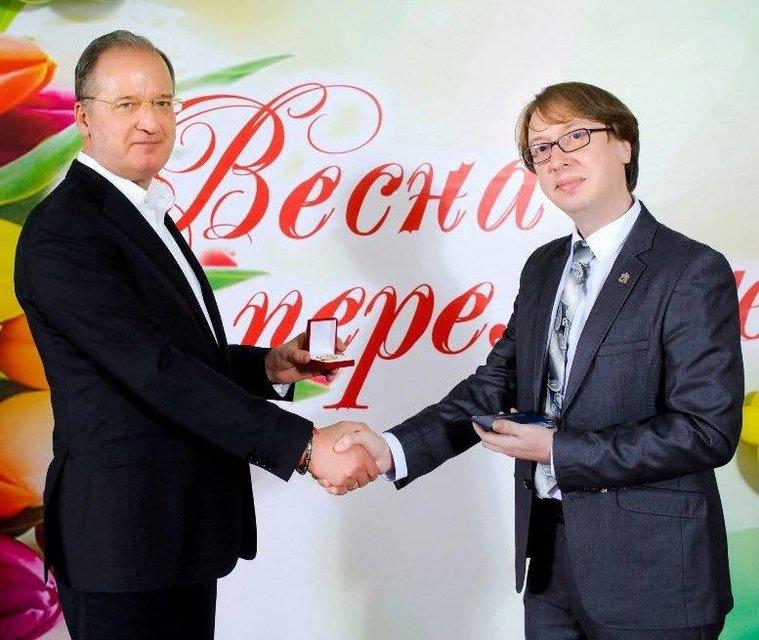 Сепаратиста в Одессе наградили званием заслуженного артиста - фото 175983