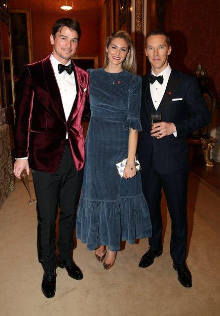 Джордж и Амаль Клуни, Бенедикт Камбербэтч и другие на приеме в Букингемском дворце - фото 176029