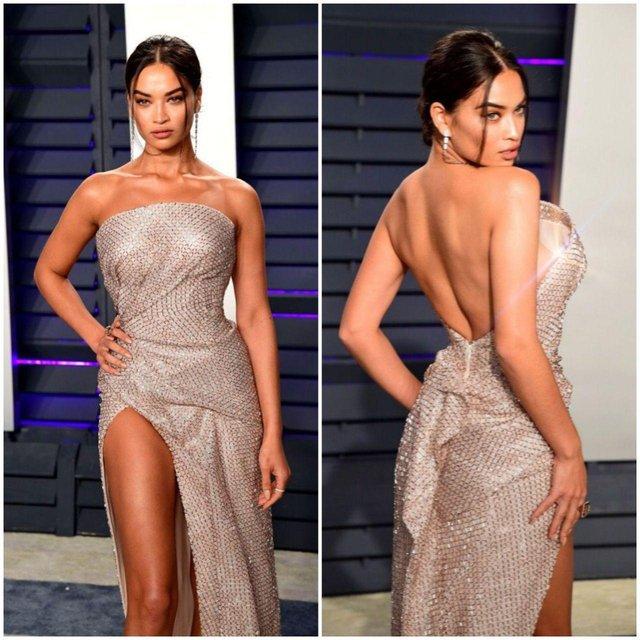 Модель Victoria's Secret Шанина Шейк засветила грудь и опозорилась — фото 176387