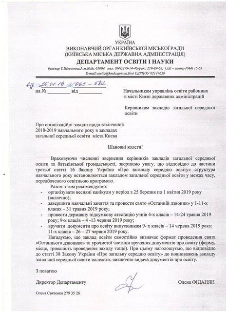 Весенние каникулы 2019: сколько будут отдыхать школьники в Украине - фото 177362