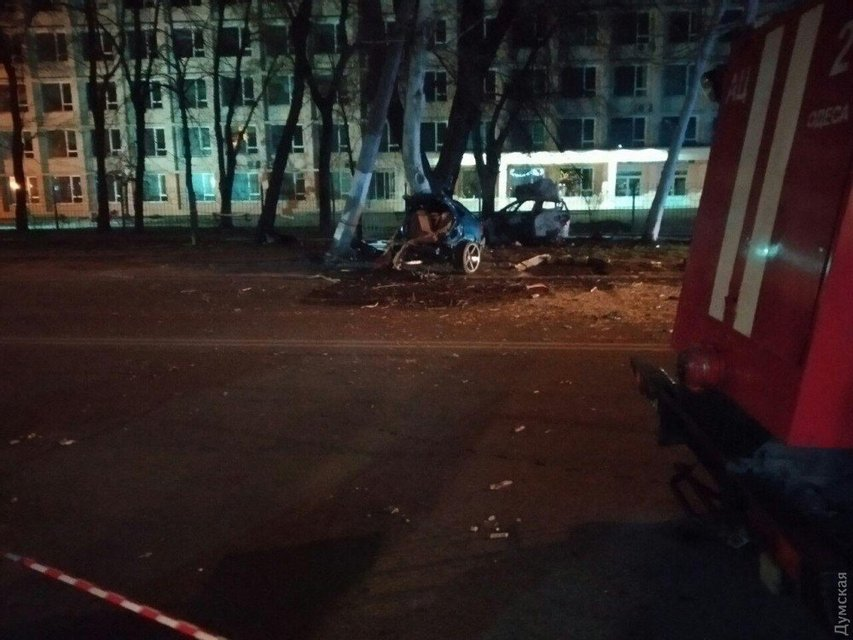 ДТП мажоров в Одессе: в сети появилось видео аварии - фото 177593