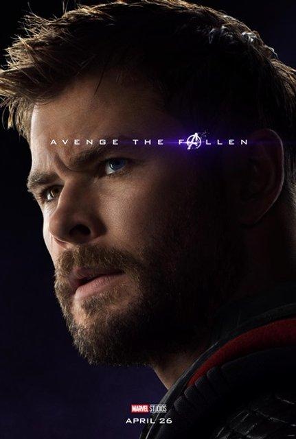 Мстители: Финал – Marvel показала первые постеры 4 части фильма - фото 177838