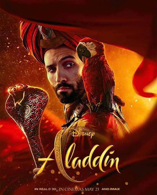 Аладдин 2019: постеры со всеми героями фильма - фото 178041