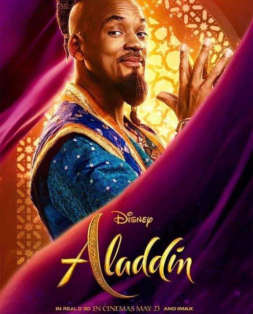 Аладдин 2019: постеры со всеми героями фильма - фото 178042