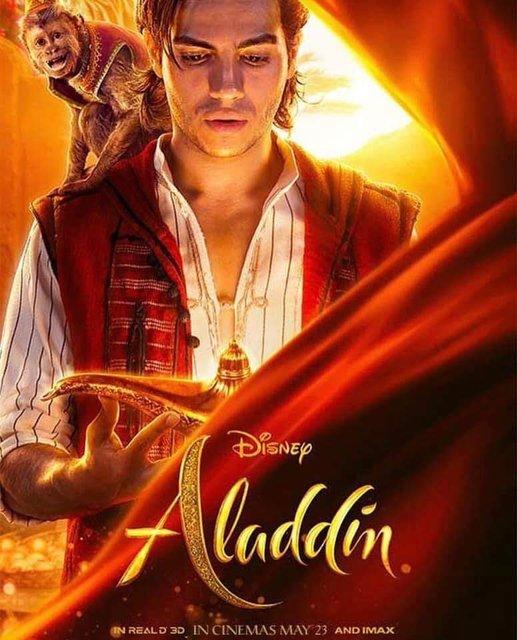 Аладдин 2019: постеры со всеми героями фильма - фото 178043
