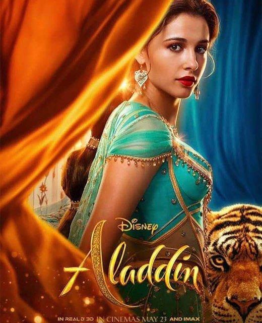 Аладдин 2019: постеры со всеми героями фильма - фото 178044