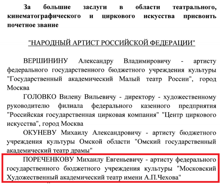 Путин наградил фаната 'ДНР' Пореченкова 'почетным' званием - фото 178194