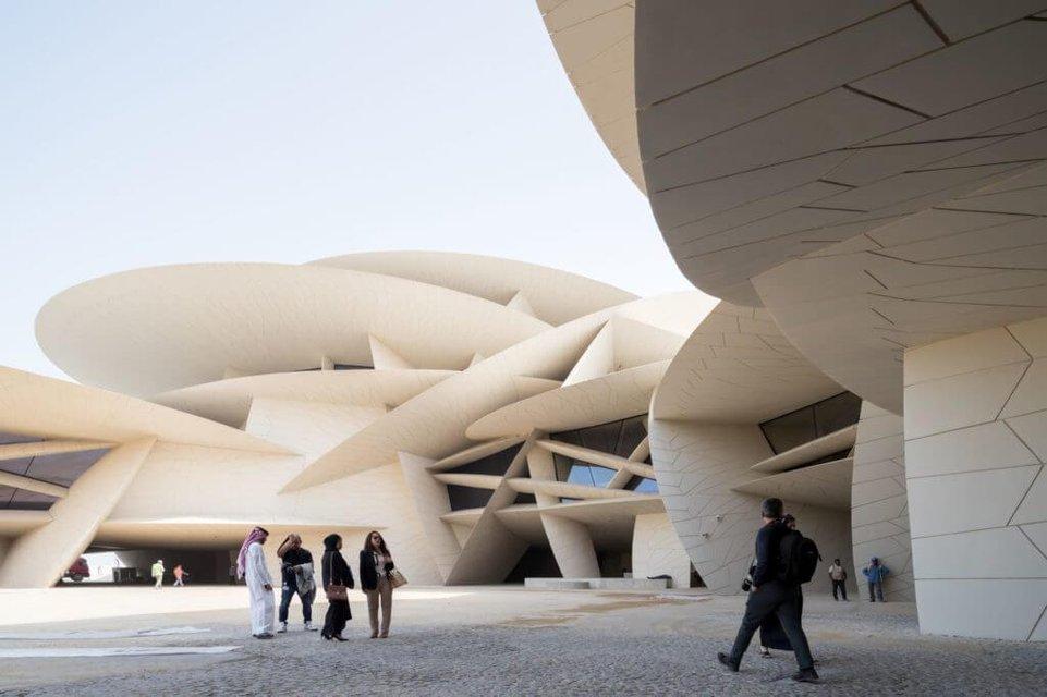 В Катаре открыли самый большой в мире национальный музей - фото 178318