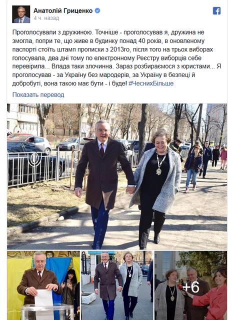 Жену Гриценко «потеряли» на выборах – ФОТО, ВИДЕО - фото 178373