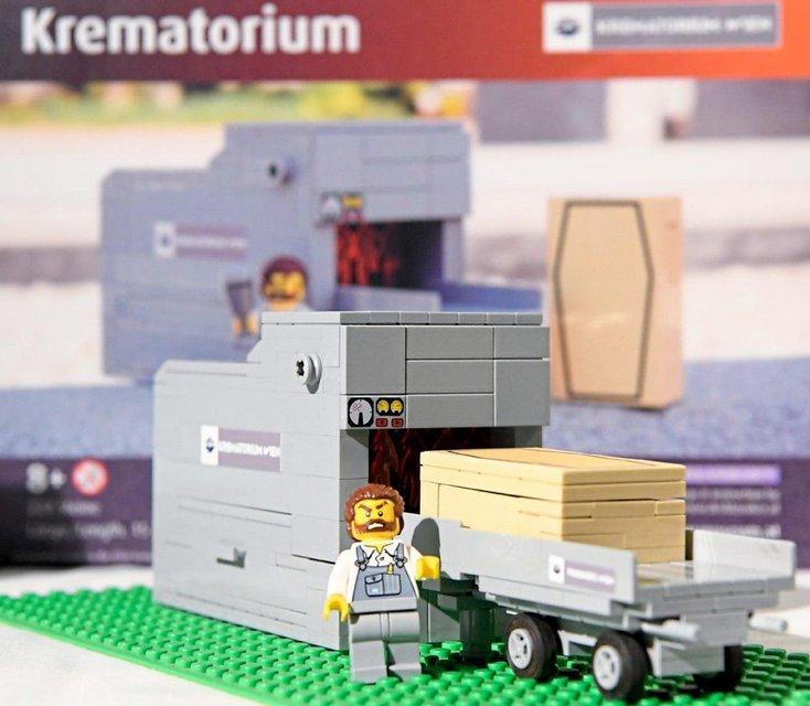 Похорони игрушки: Lego создала конструкторы с экскурсом в мир смерти - фото 179317