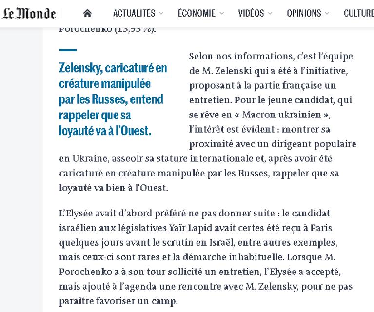 Карикатурное существо, которым манипулируют русские: французские СМИ уничтожили Зеленского - фото 179435