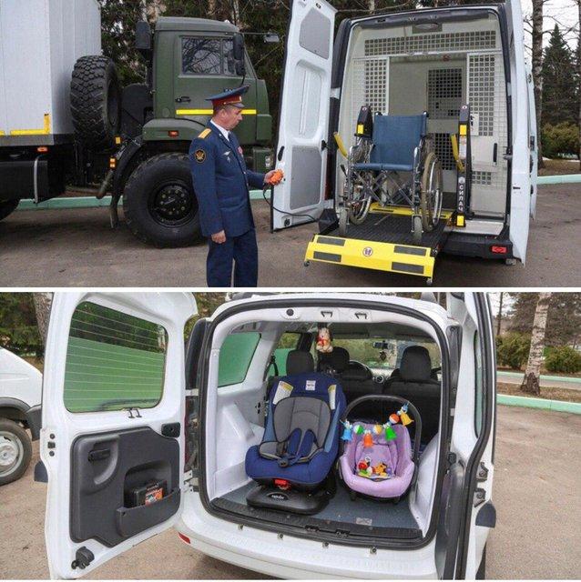Для упаковки детей и инвалидов: Россия похвастались новыми автозаками - фото 179481