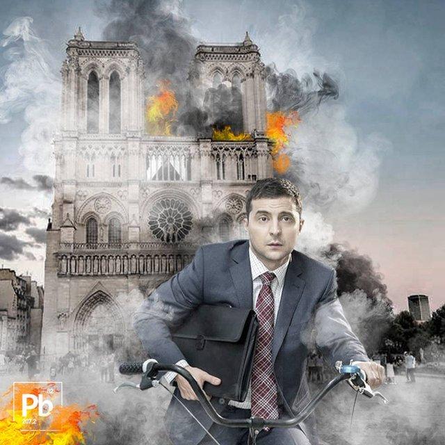 Порохобот Березовец зашкварился из-за дебильных высказываний о пожаре в Нотр-Даме ФОТО - фото 179513