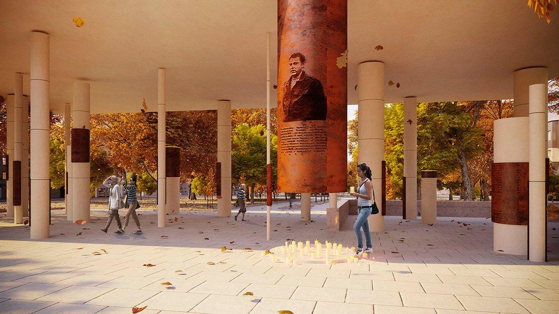 На месте гибели Захарченко поставят памятник - ФОТО - фото 179644